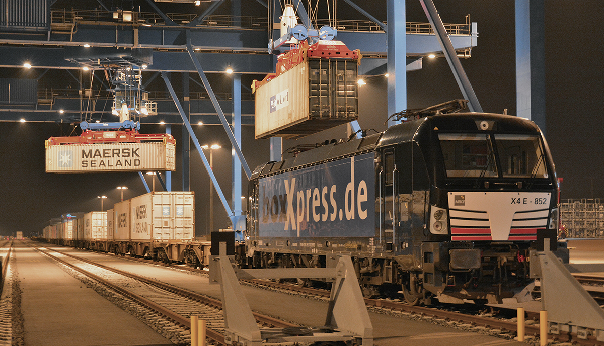 Eurogate BASF ships containers to Japan via Wilhelmshaven