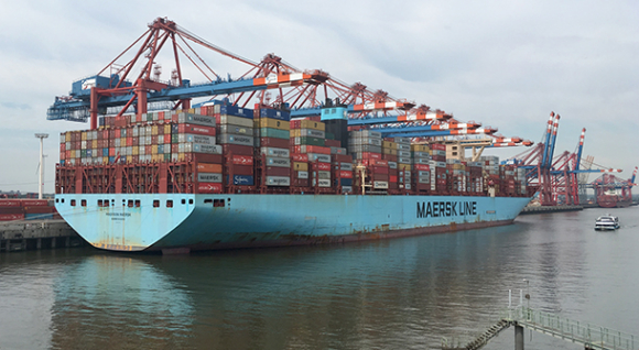 MADISON MAERSK at CTH