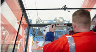 Container gantry operators